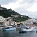 Amalfi fishing boats by philippa huber