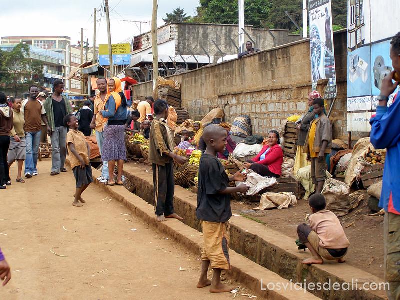 parada en etiopía