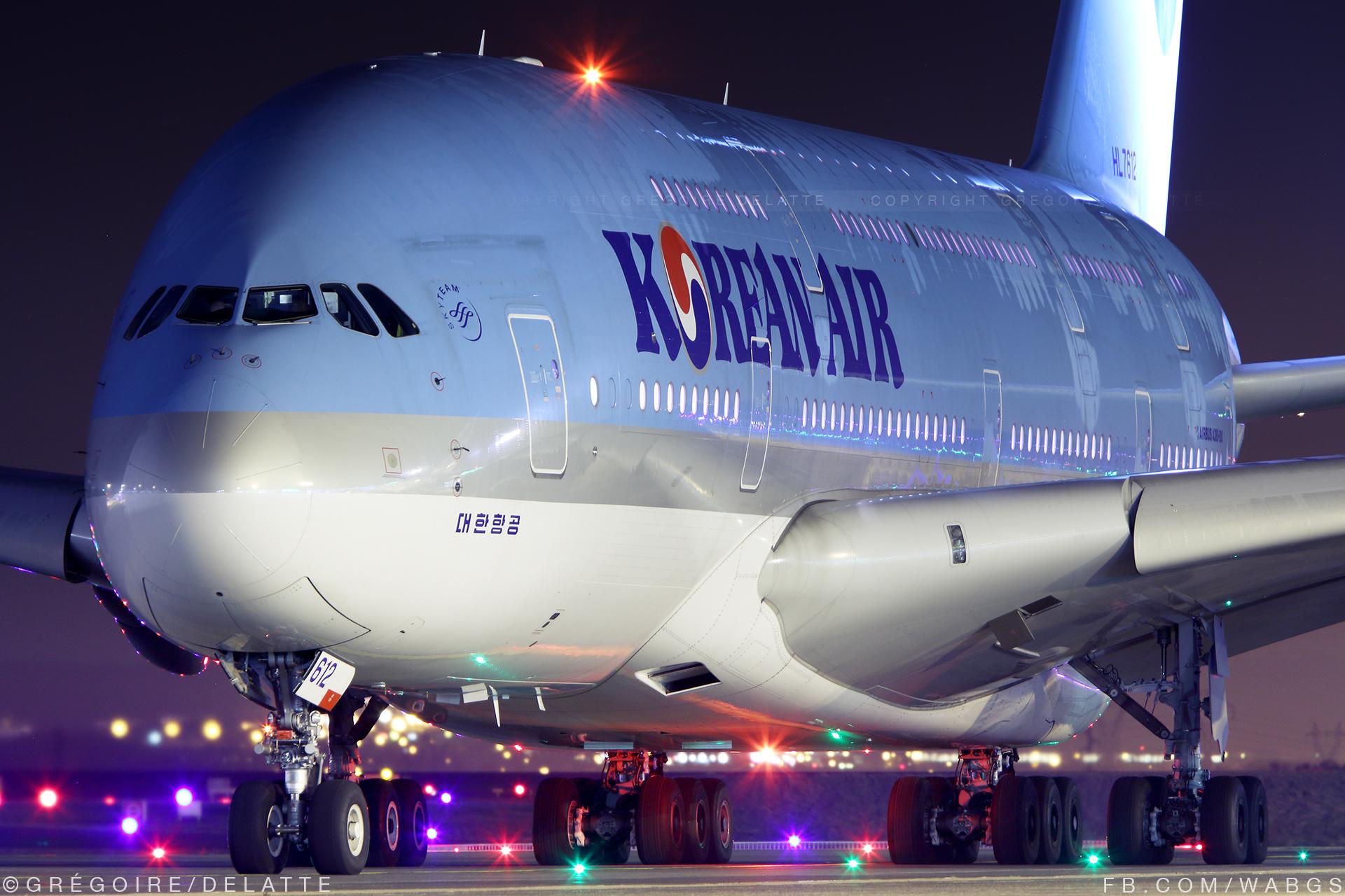 CDG   Airbus A380   Korean Air