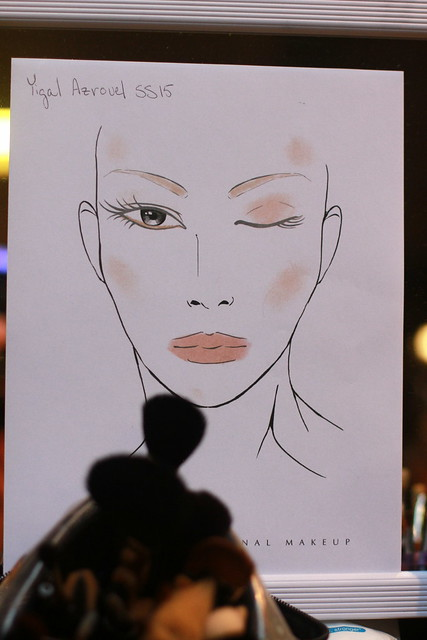 Yigal Azrouel S-S 2015 NYFW Backstage 005