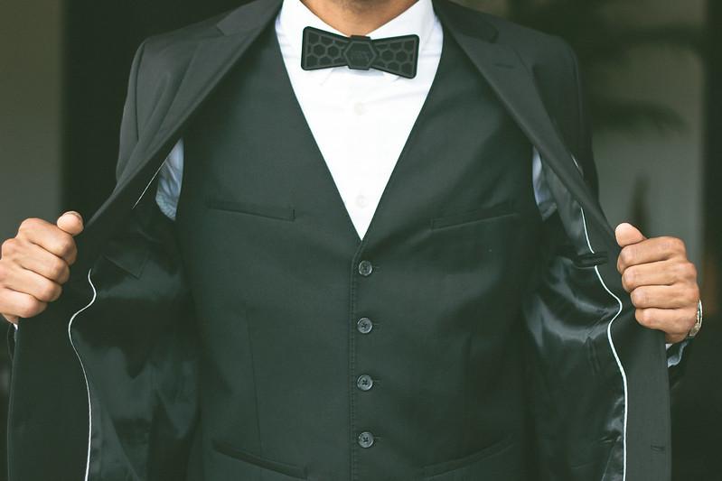 {modern black tie affair} via chevrons & éclairs