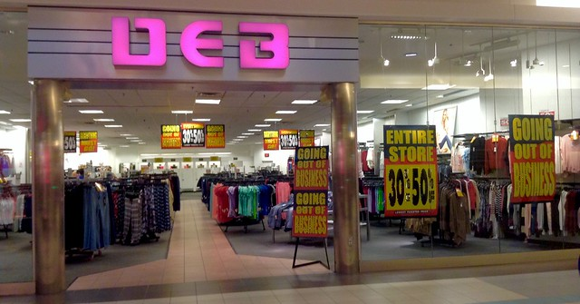 Debs clothing store hours
