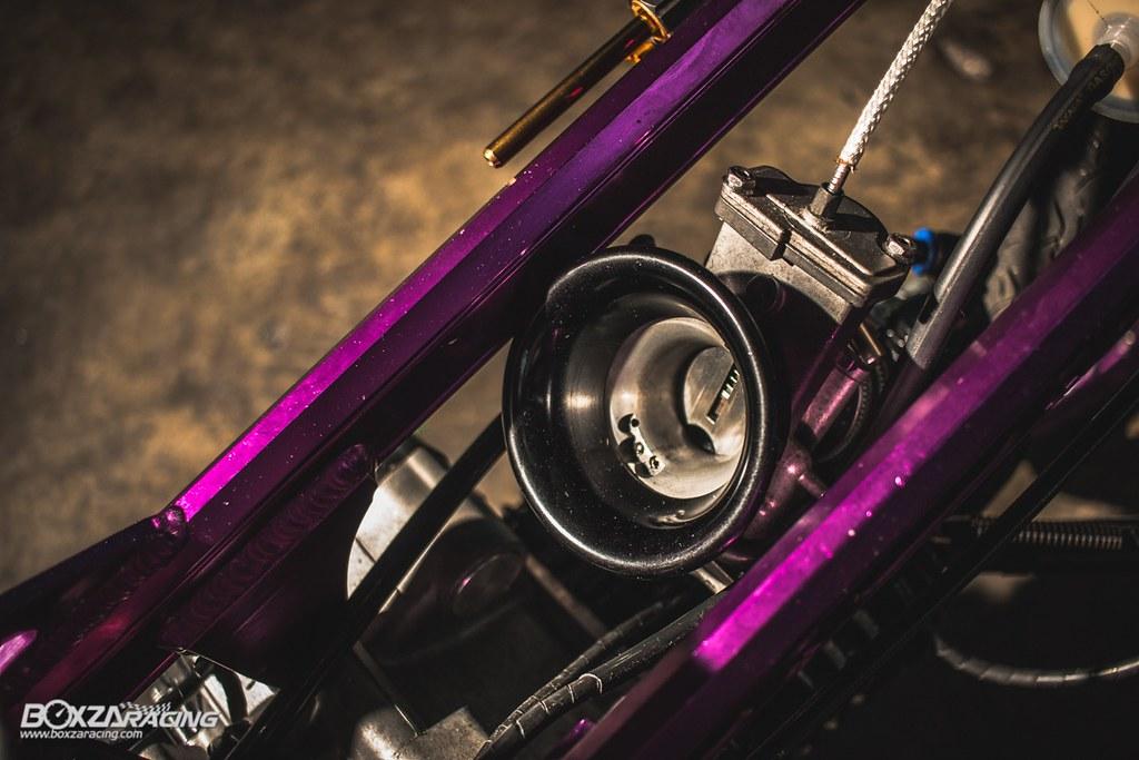 Wave Drag độ màu tím khủng khiếp với Piston 78mm (Thái) - 24