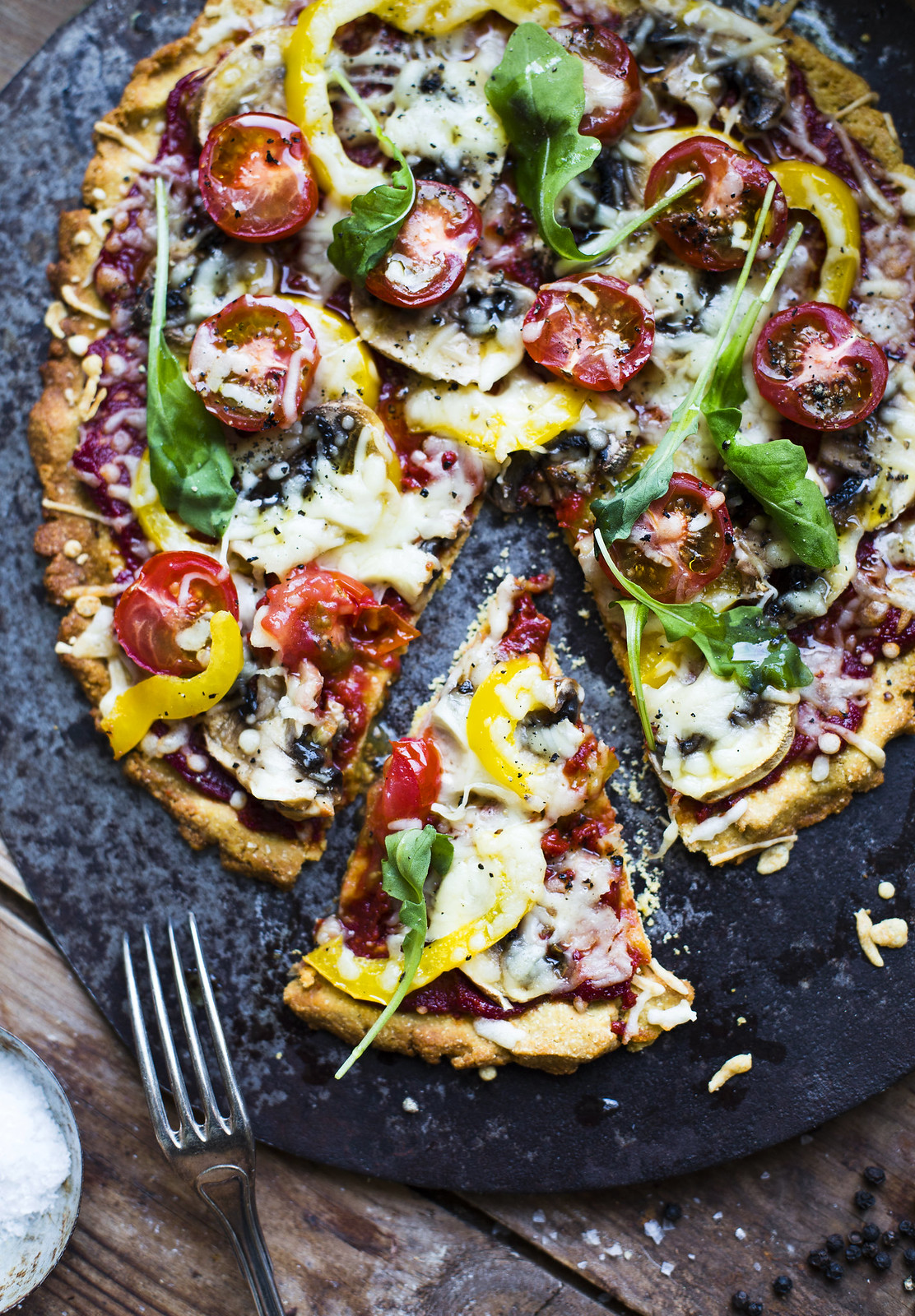 pizza recept bakpulver