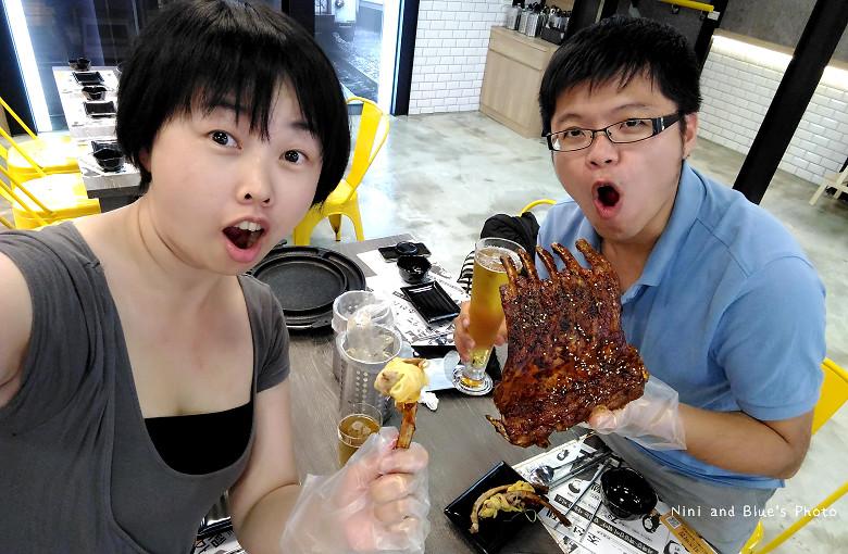 打啵G台中韓式料理烤肉串菜單menu價位33