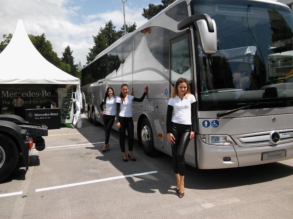 Мак Аутостар и Mercedes-Benz на Саем за транспорт