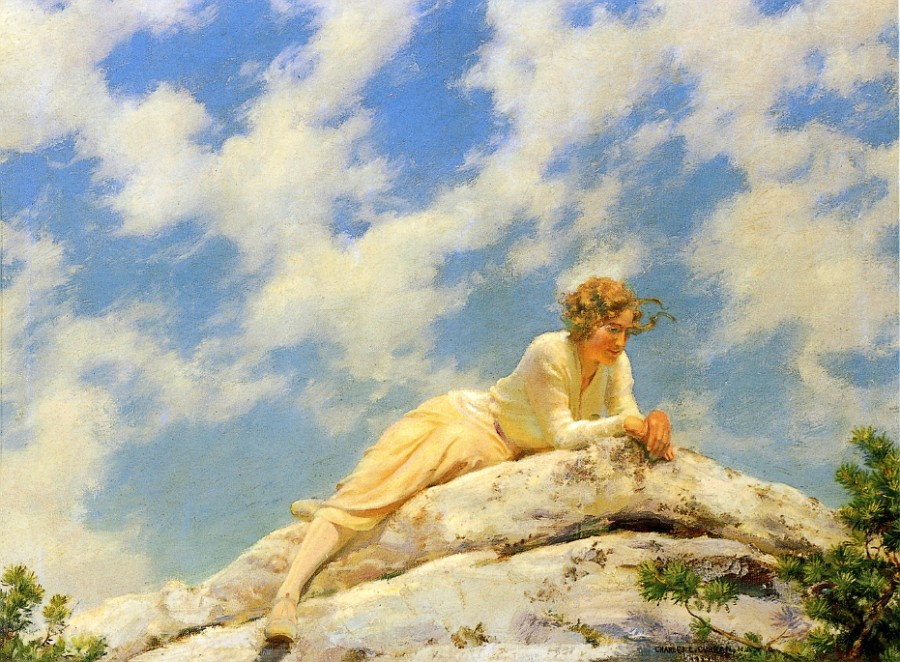 Ragged Clouds by Charles Courtney Curran - 1922