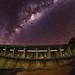 Milky Way over Canning Dam, Western Australia by inefekt69