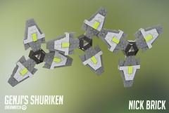 Genji's Shuriken - Overwatch