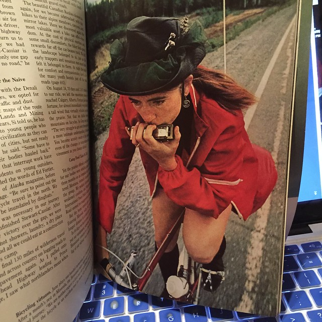 June Siple in the 1973 National Geographic