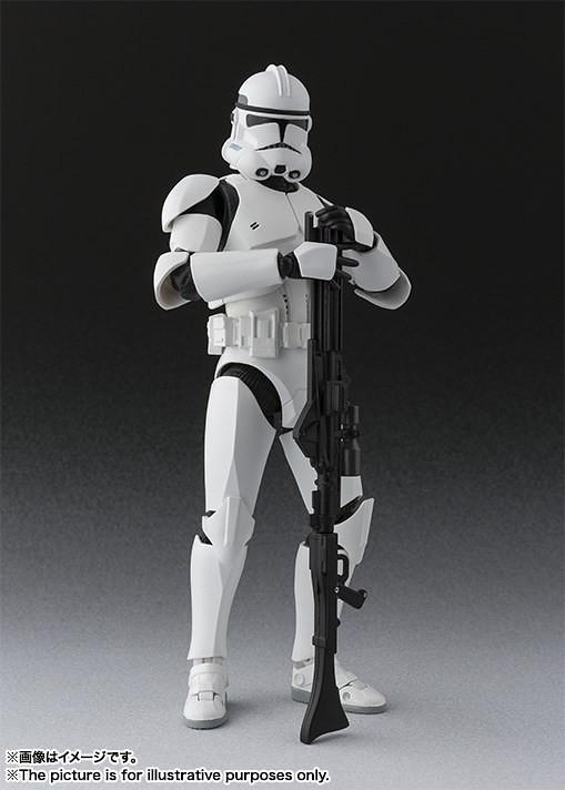 S.H.Figuarts 《星際大戰》複製人軍隊(第2階段) クローン・トルーパー フェイズ2