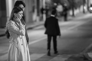 22 Le verità - Foto di scena - Francesco Montanari e Nicoletta Romanoff
