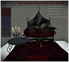 DD Morticia Wing Couch Set_001A Fixed