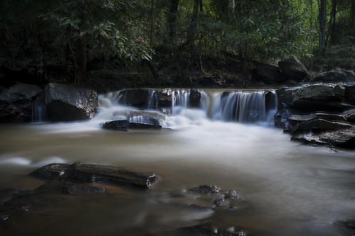nature river thailand waterfall long exposure sony mai sa chiang mea nex
