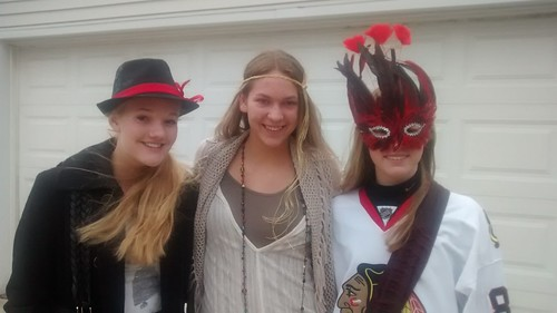 Halloween with Nicole and Hannah