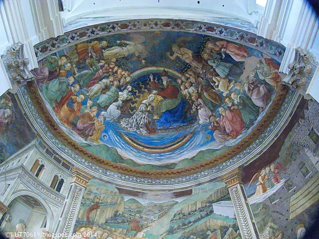 Spoleto - Dom - Krönung Mariens