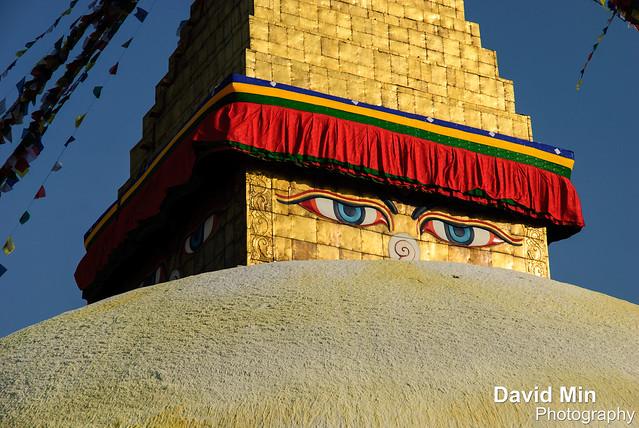 Kathmandu, Nepal - Boudhanath Temple