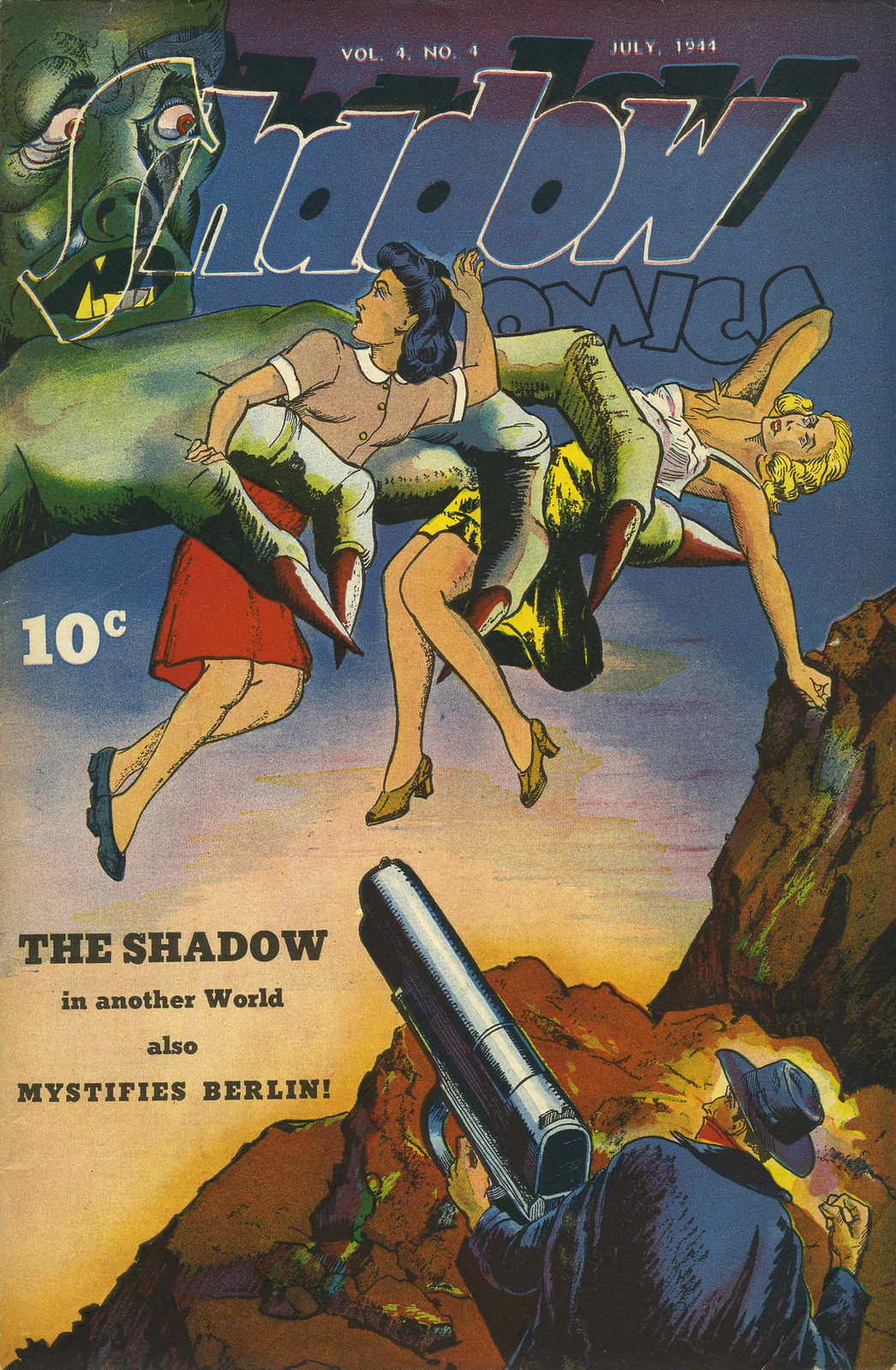 Shadow Comics V4#4 (Street & Smith, 1944)