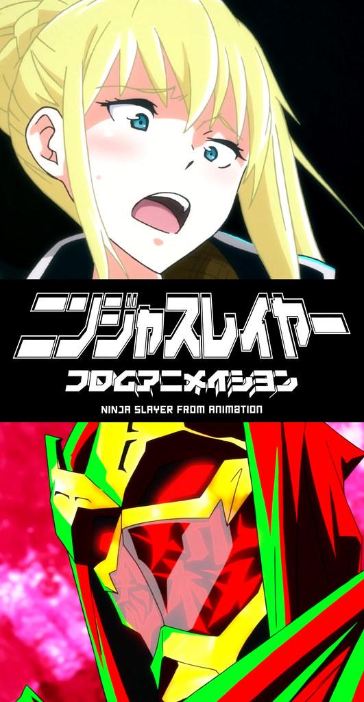 150302(4) - 女忍者「雨宮天×種田梨沙×斎藤千和」登場、新動畫《NINJA SLAYER》發表正邪主角聲優陣容!