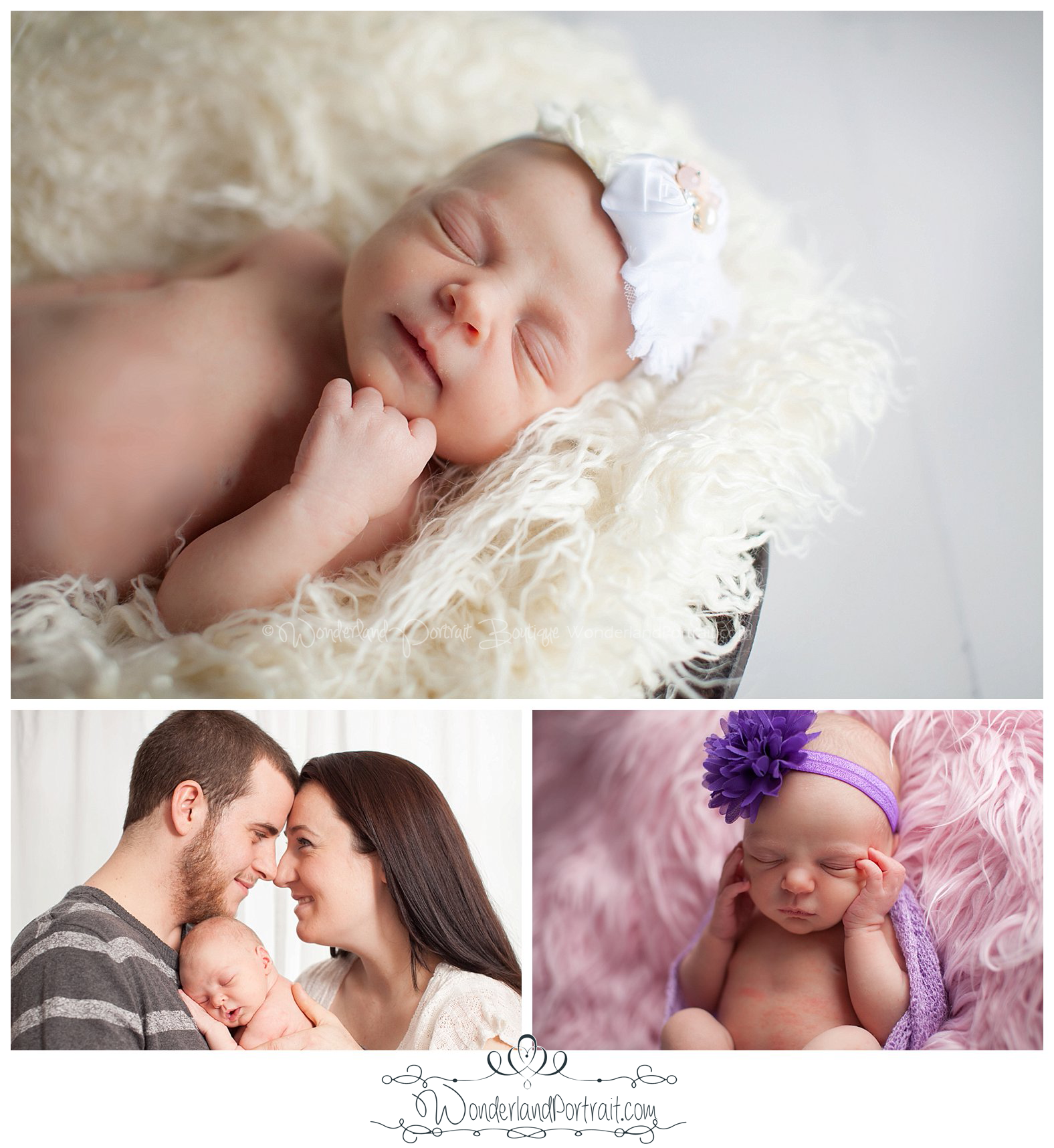 Parent pose Newborn Photos Bucks County PA | WonderlandPortrait.com