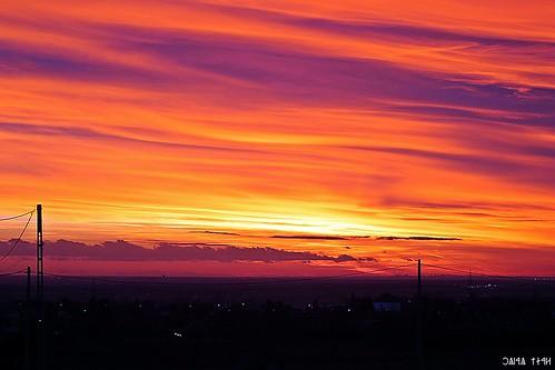 sunset eos hungary magyarország színek 1100d maglód