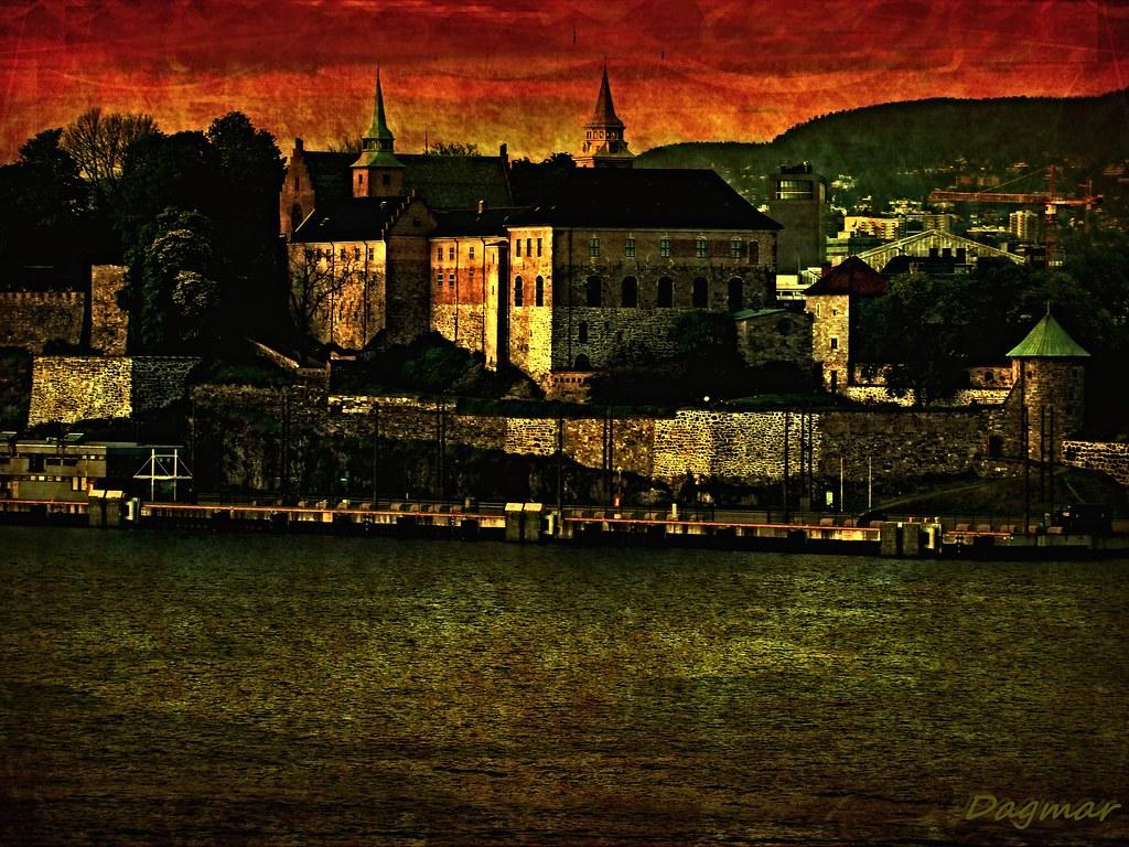 Celebrity Silhouette, seen from Akershus Castle