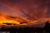 sunset 21st December 2014 - Bury St Edmunds