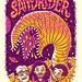 Sandrider Gigposter by Michael Hacker Illustration