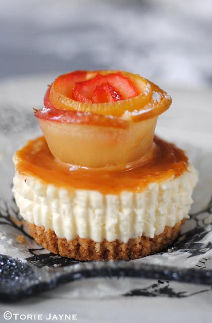 Gluten free caramel apple cheesecake recipe