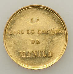 Victory at Jolo gold Medal obverse