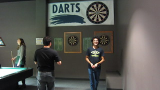 RoboGrads Halloween Party 2014--Darts