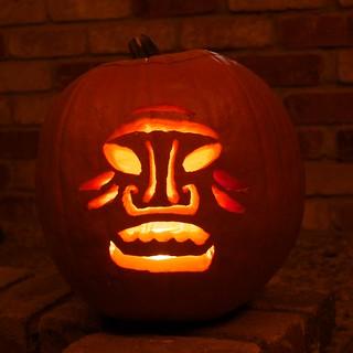 Tiki Pumpkin