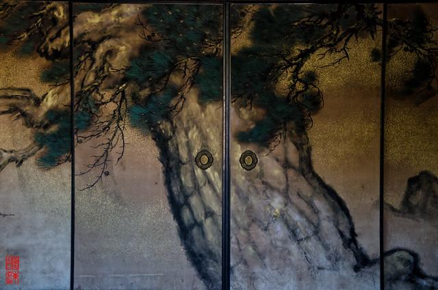「屏風絵」 仁和寺 - 京都