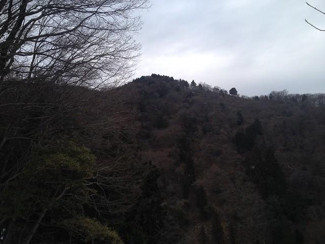 養老山・笙ヶ岳 登山道より表山