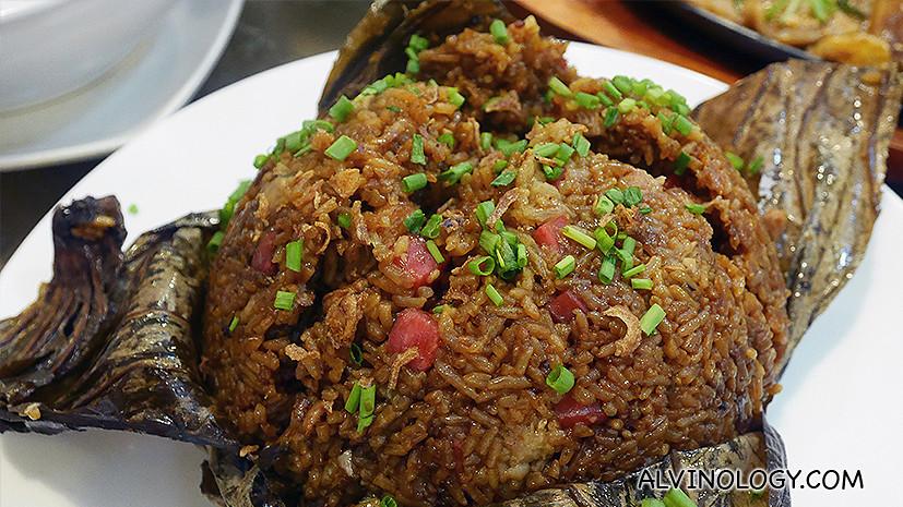 Lotus Leaf Rice (CNY item)