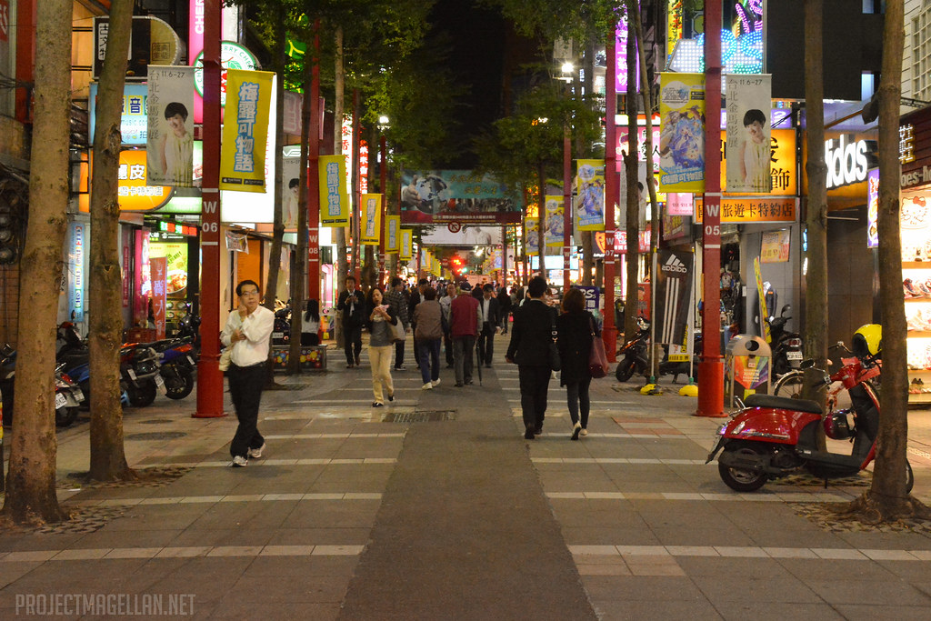 Ximending, Wanhua District, Taipei, Taiwan