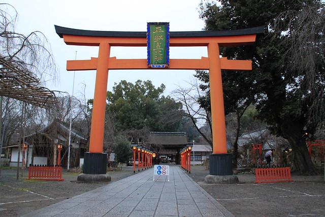 平野神社 - 鳥居