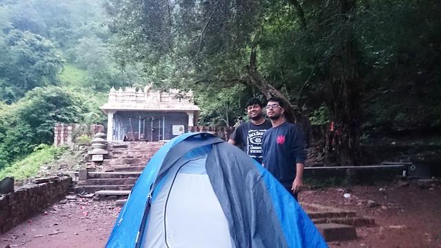 Camping at Malola Temple