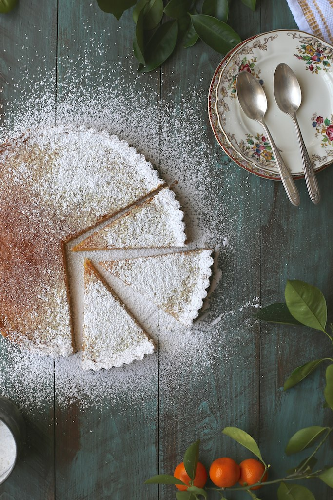 Lazy Mary's Citrus Tart (Joy The Baker)