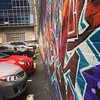 Face-off: cars vs #graffiti wall #art