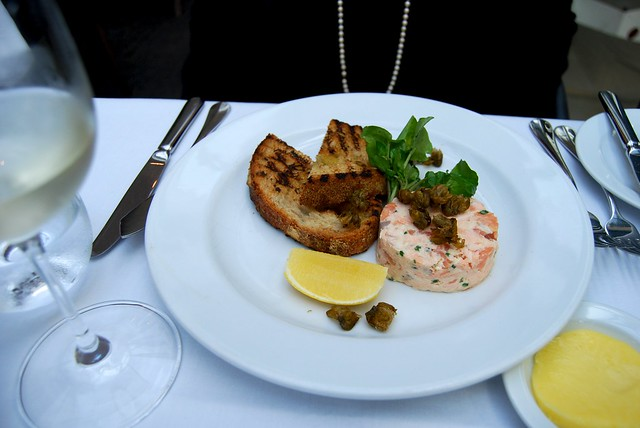 Potted Salmon & Popcorn Capers at Roast, Borough Market