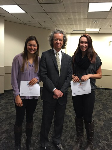 Alan Shaver with Katie Woo and brianne Rauch (WVB)
