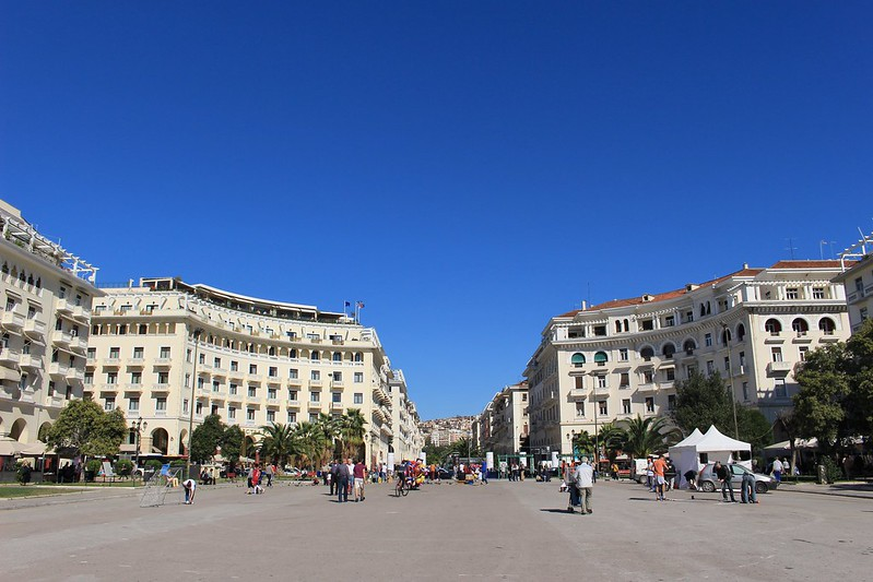 Thessaloniki square