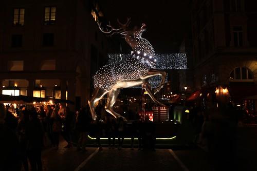 Covent Garden: renna natalizia