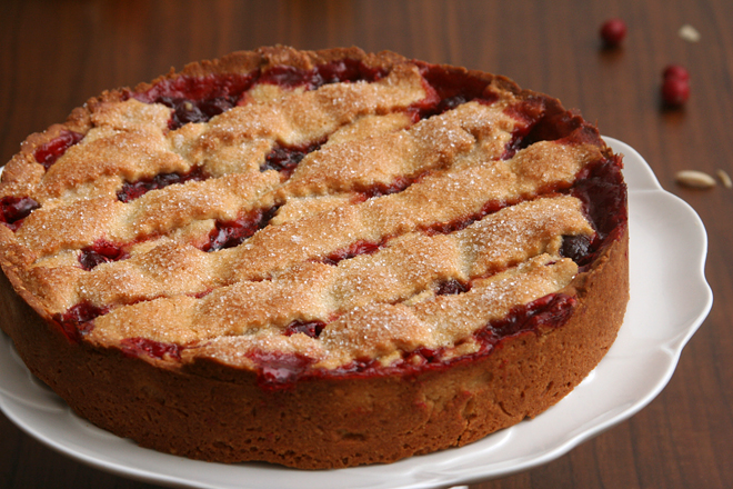 cranberry crostata 6