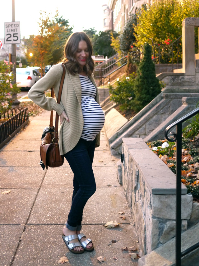 H and M conscious connection maternity style