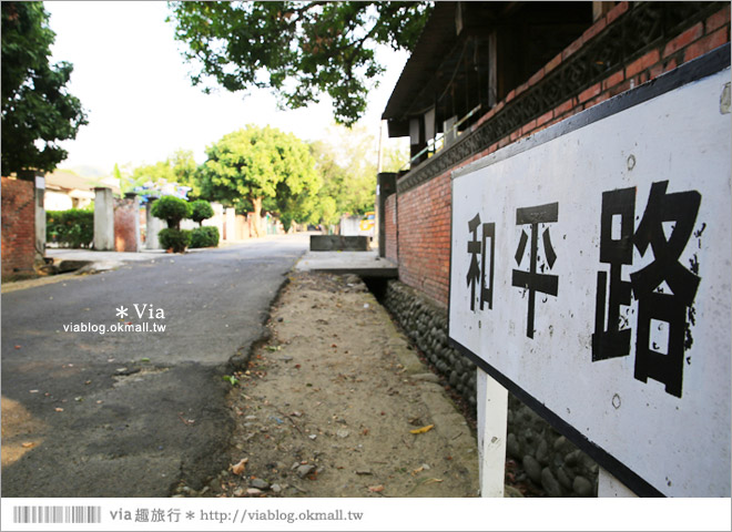 【台中霧峰景點】台中光復新村~可愛的造型椅林立、讓老眷村重新充滿新活力!18