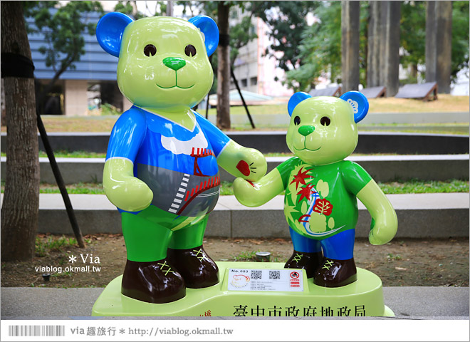 【台中泰迪熊草悟道】台中泰迪熊展2014地點(草悟道篇)~熊可愛‧親子熊超卡哇依!7