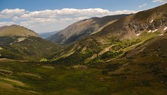 The View from Alpine Visitor Center in Rocky Mountain NP