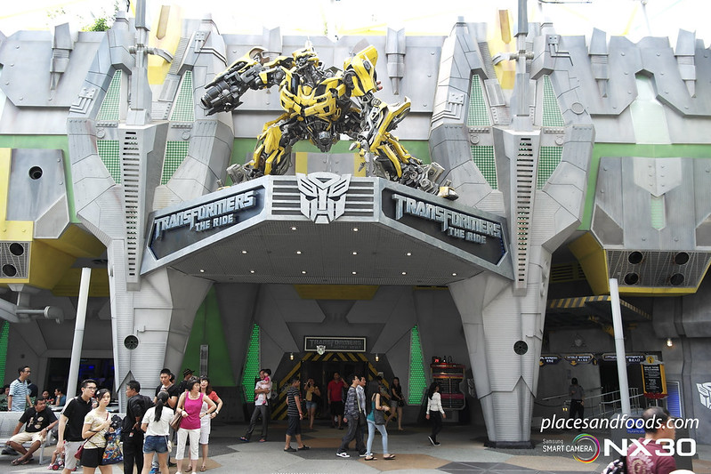 universal studio singapore transformers the ride